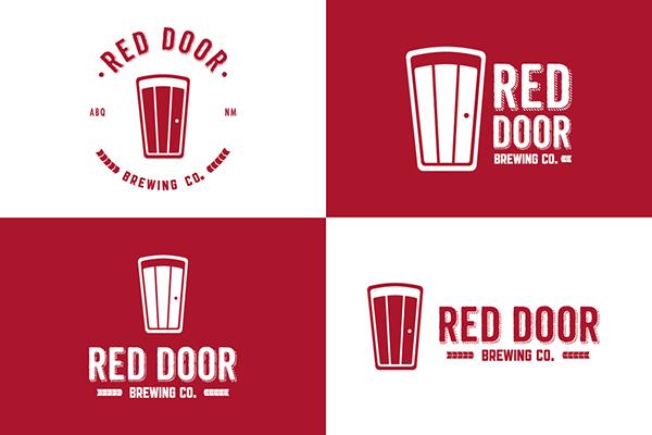 craft beer logo albuquerque brewing red door red door brewing