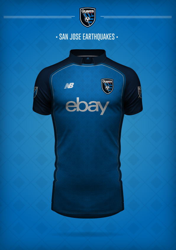 New Balance San Jose Earthquakes Concept Kit