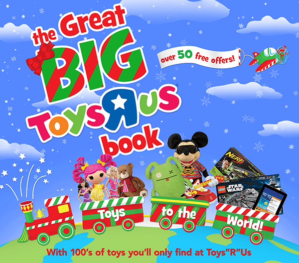 the great big toysrus book on behance