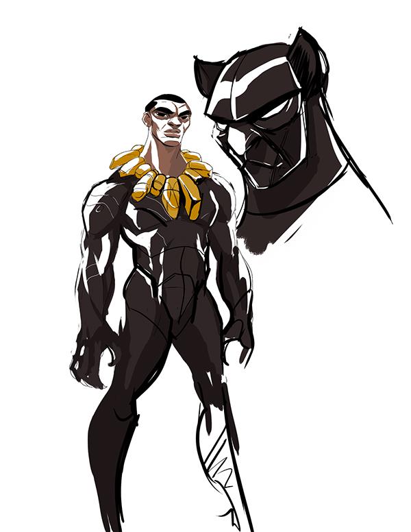 Marvel Character Design Behance : Character design marvel universe on risd portfolios