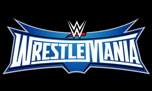 wrestlemania 32 logo on behance