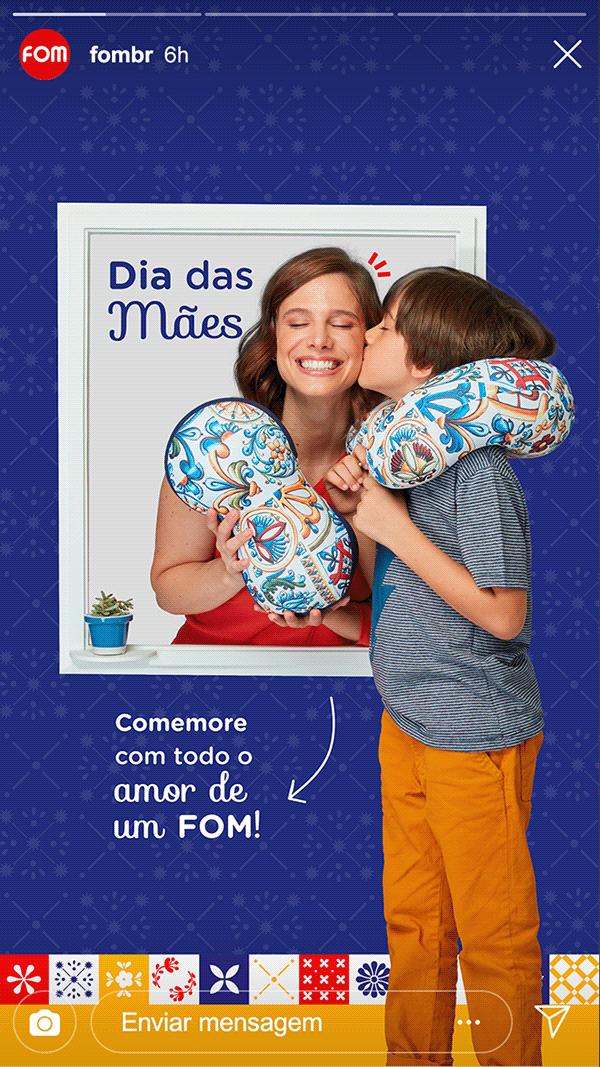 Campanha Dia das Mães | FOM
