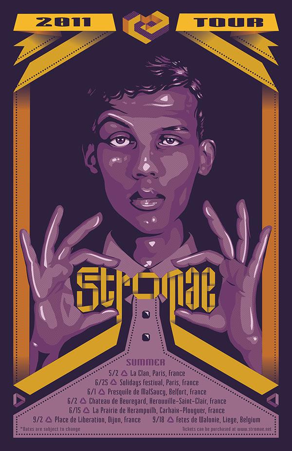 stromae tour on behance