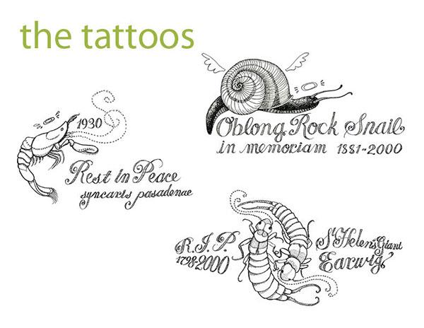 Extinction Empathy Tattoos