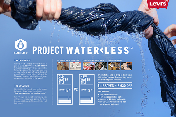 Campaign Campaign Behance Waterless On On Levi's Campaign Waterless Levi's Behance q6n4xqRa