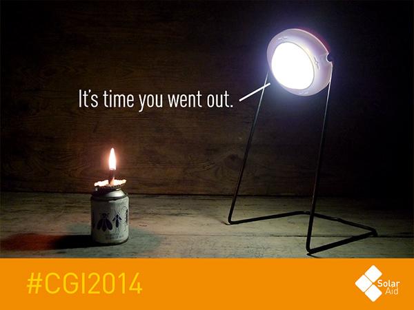SolarAid solar power clinton global initiative africa Kerosene Tanzania malawi kenya Zambia Uganda