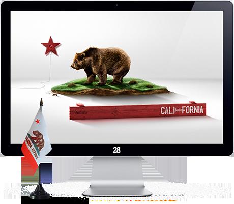 Download Californias Flag Wallpaper