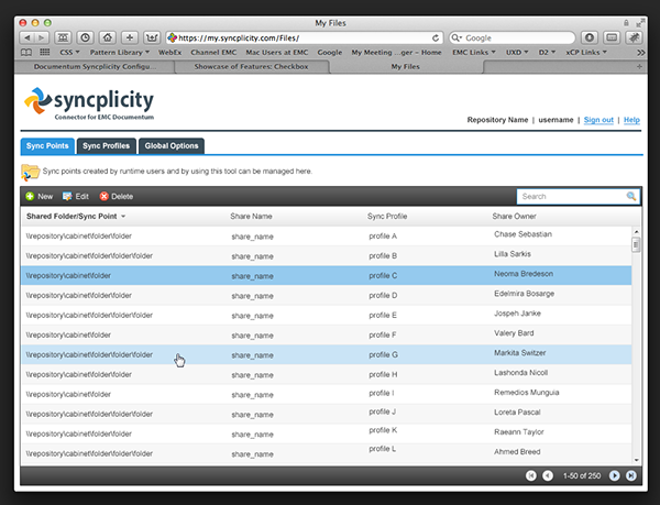 syncplicity connector for documentum on behance