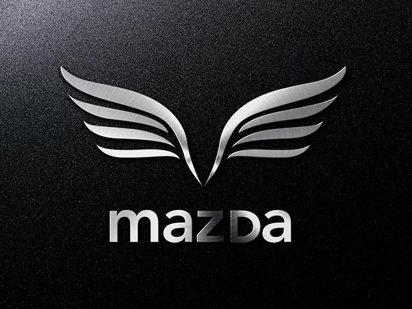 Mazda Logo - Rebranded on Student Show