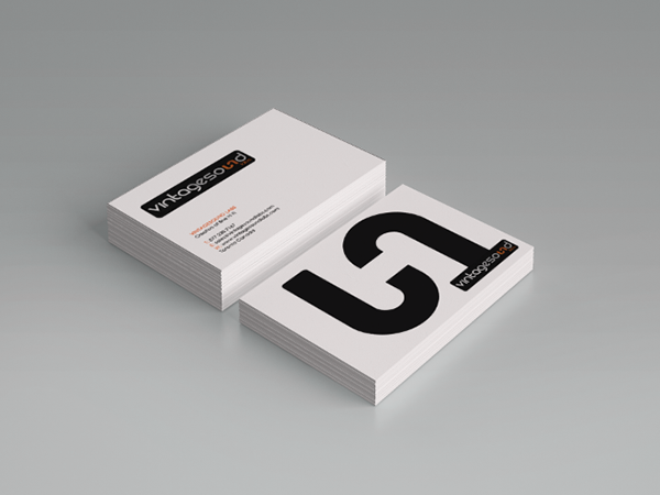 Business card design on behance thank you reheart Images
