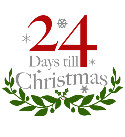 Days To Christmas.24 Days Till Christmas On Behance