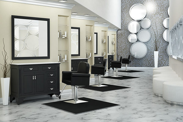 Salon Interior Designs on Behance