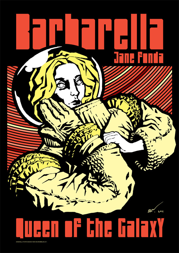 barbarella movie poster - photo #16