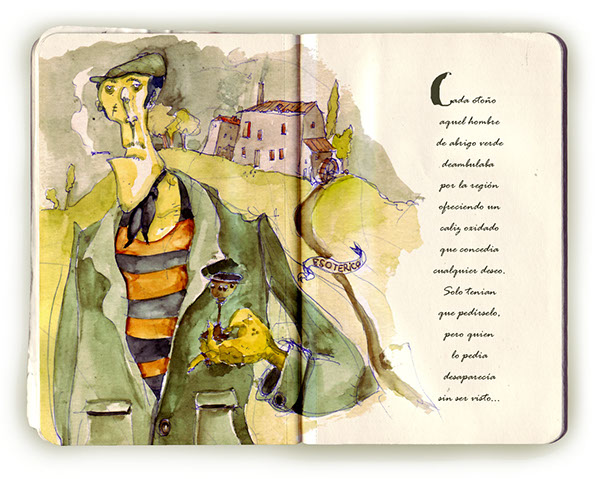 ilustration personajes