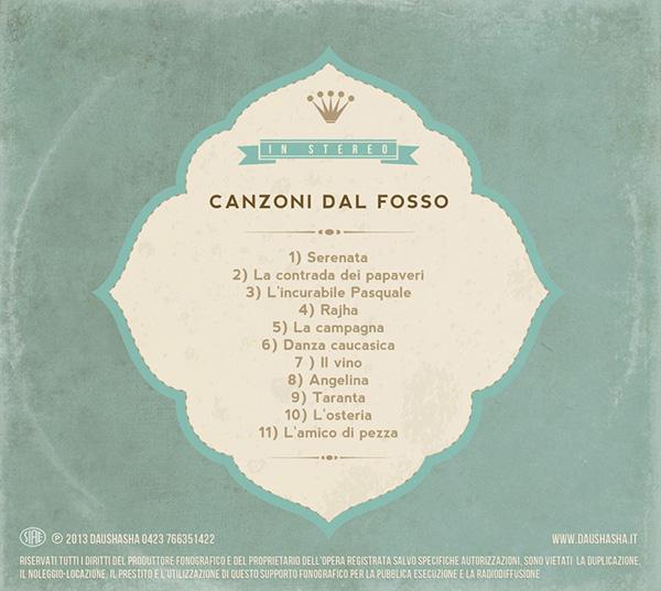 daushasha, CD cover,album cover,Logo Design,graphic,CD packaging,digipak,folk music