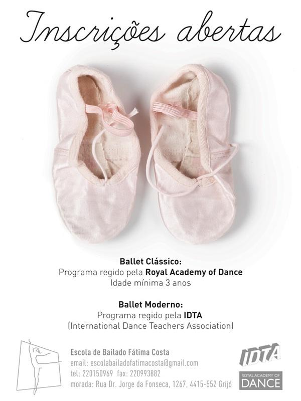 ballet school DANCE   poster print