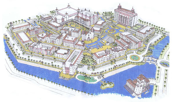 3d model for new urbanist city design on behance for Design in the city