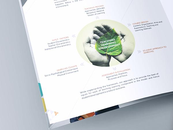 Placement brochure design for vim on pantone canvas gallery for Placement brochure design