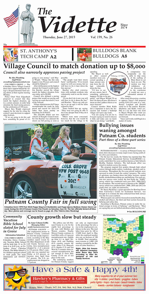 newspaper pagination