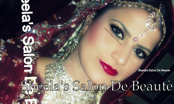 Bride With Airbrush Makeup