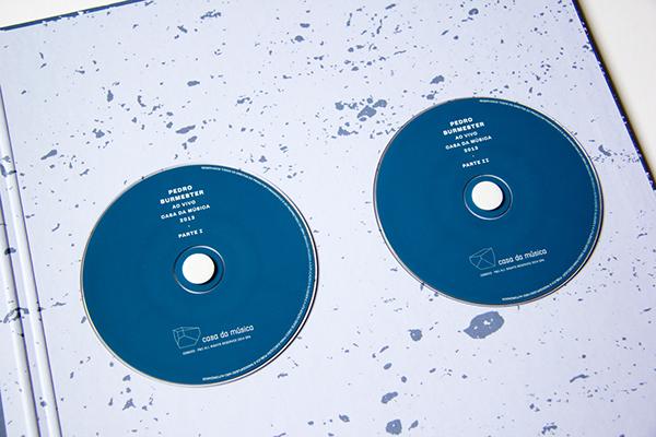 Piano vinyl cd Gatefold metallic gold blue