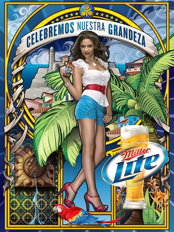 Hispanic Heritage Campaign - Miller Lite on Behance
