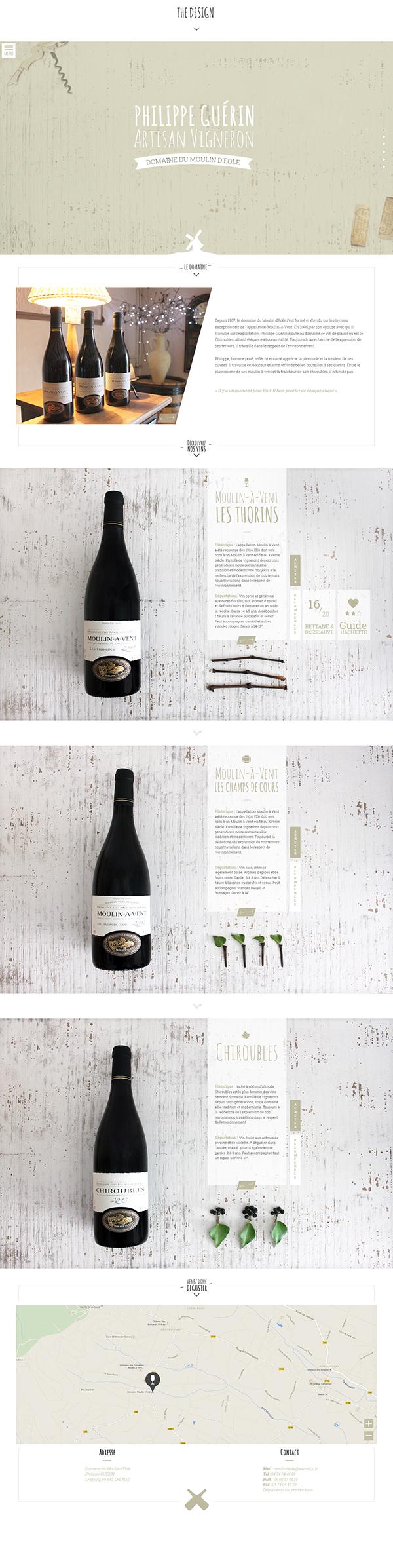wine Webdesign design Loader