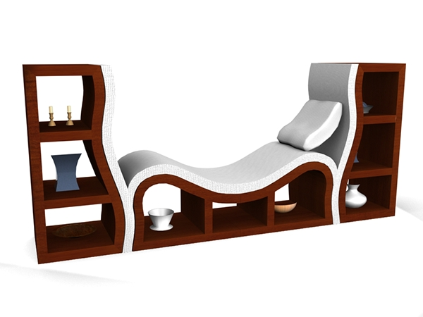3d furniture design modern collection on behance for Furniture 3d design