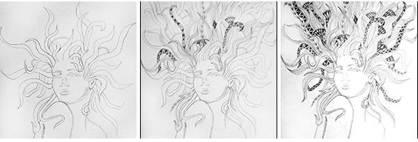 Sketch Girl On Behance
