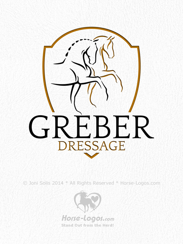 Design Dressage Main Logo Design Dressage
