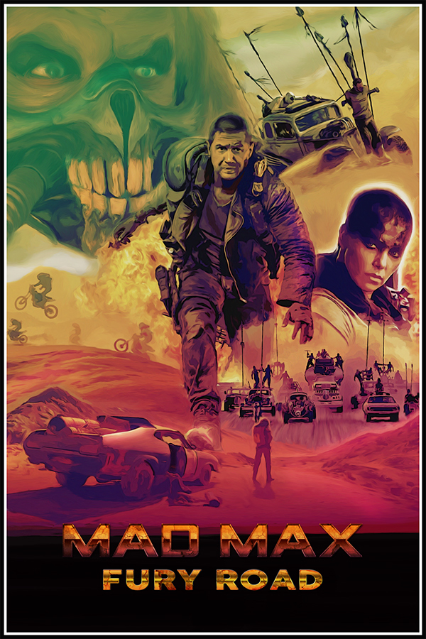 Max fury road art posters