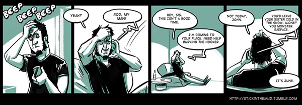 Webcomic cartoon club ownership