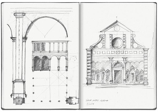 Rome Sketchbook I Study Abroad On PhilaU Portfolios