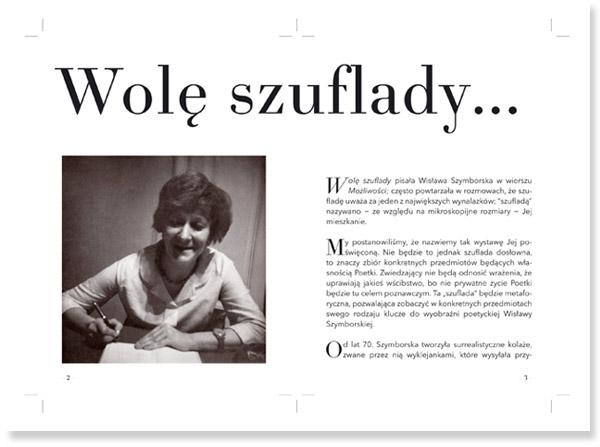 Mnk Szuflada Szymborskiej Szymborskas Drawer On Pantone