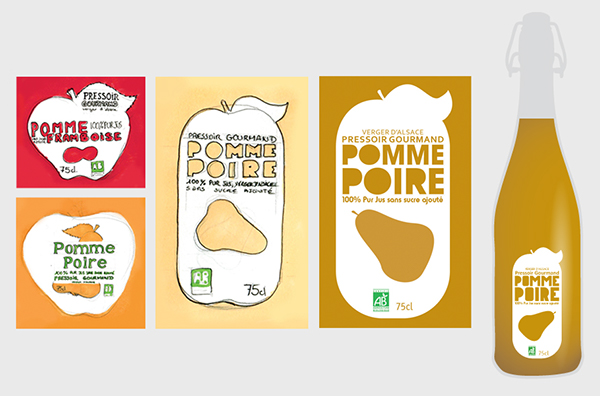 Bien connu Pressoir Gourmand on Behance LG39