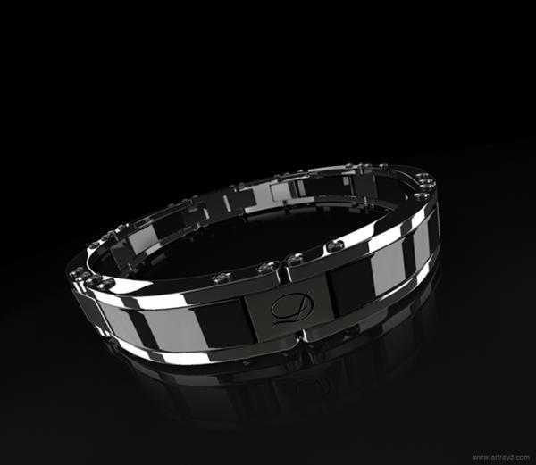 3D Modelling bracelet 3d