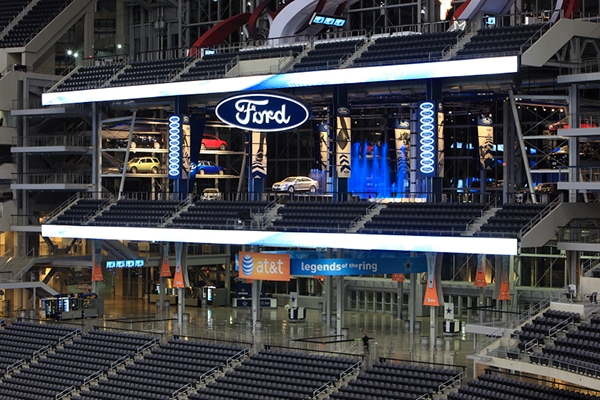 Ford motor company the new dallas cowboys stadium on behance for Ford motor company news