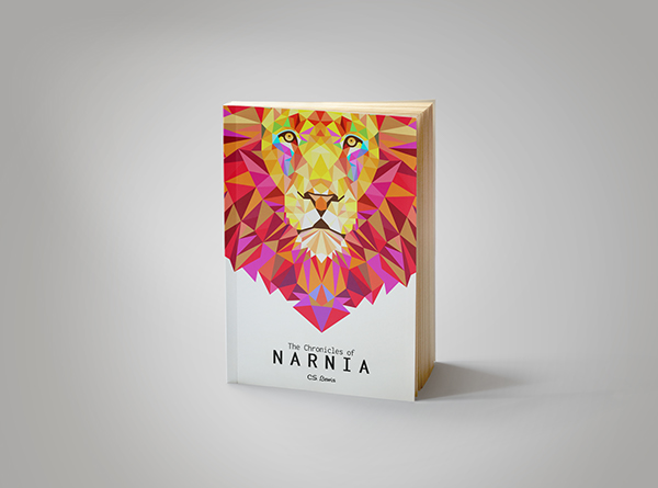 Narnia Book Cover Art : Narnia book cover art on pantone canvas gallery