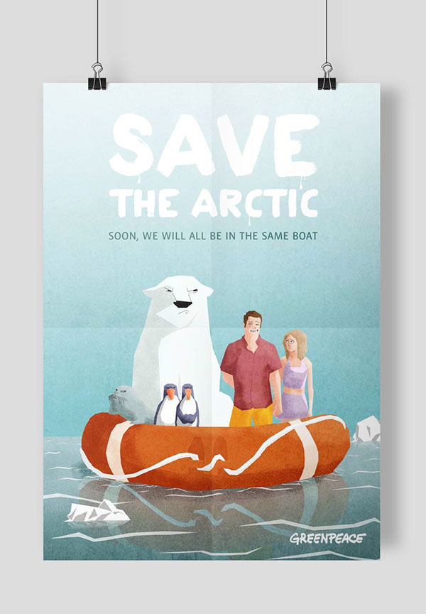 Save the Arctic Greenpeace Arctic