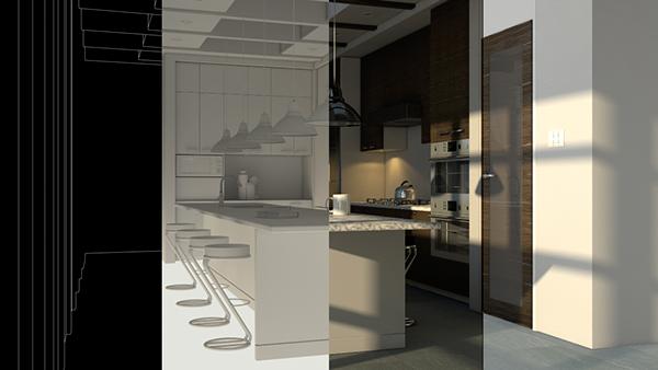 Kitchen Design On Wacom Gallery