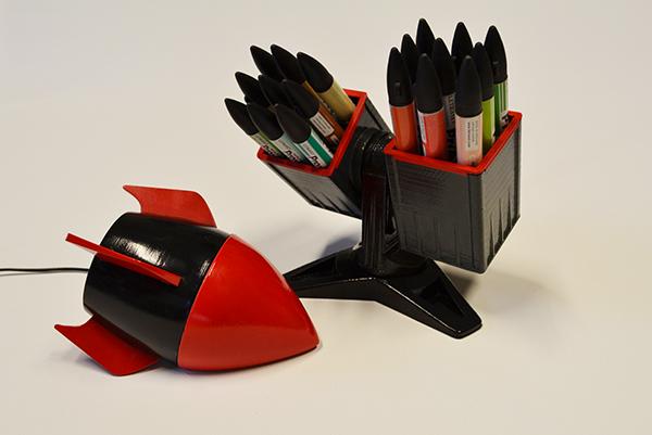 rocket Space  Marker pen marker pen promarker Copic speaker
