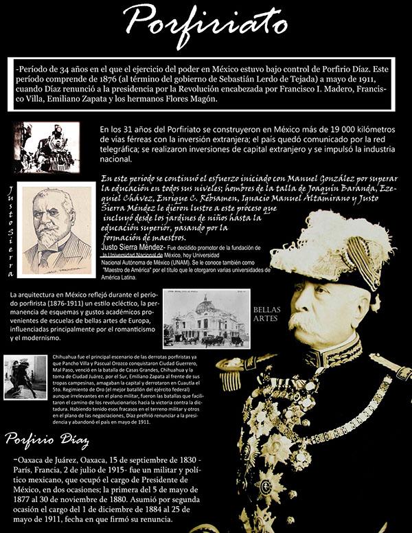 Porfiriato on behance for Editorial periodico mural