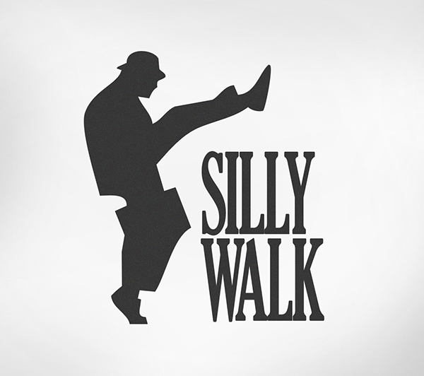 John cleese as a civil sethis pic is the original silly walk