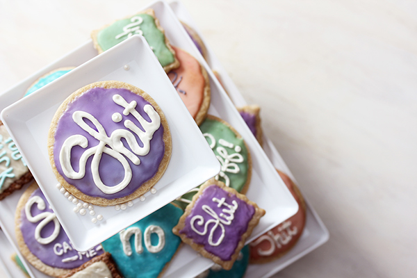cake cookie cupcake bakery dessert Frosting bold pie Food  type HAND LETTERING