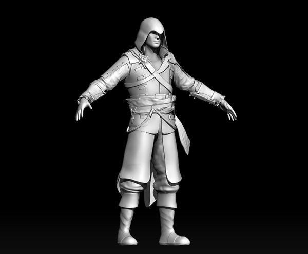 Assassin Creed Black Flag Character On Behance