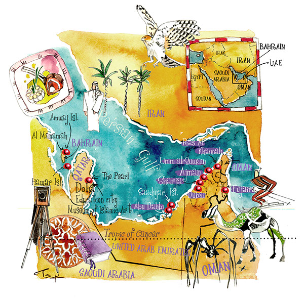 ASIA Maps-India,Jerusalem,UAE,Vietnam,Maldives isl on ...