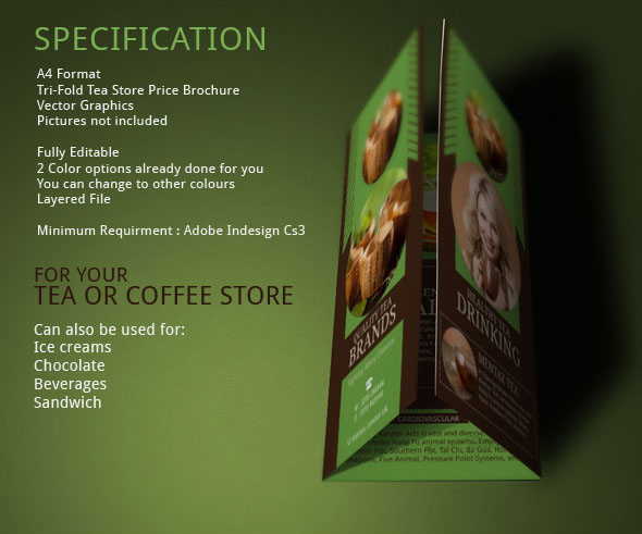 Best Tea Brochure For Store