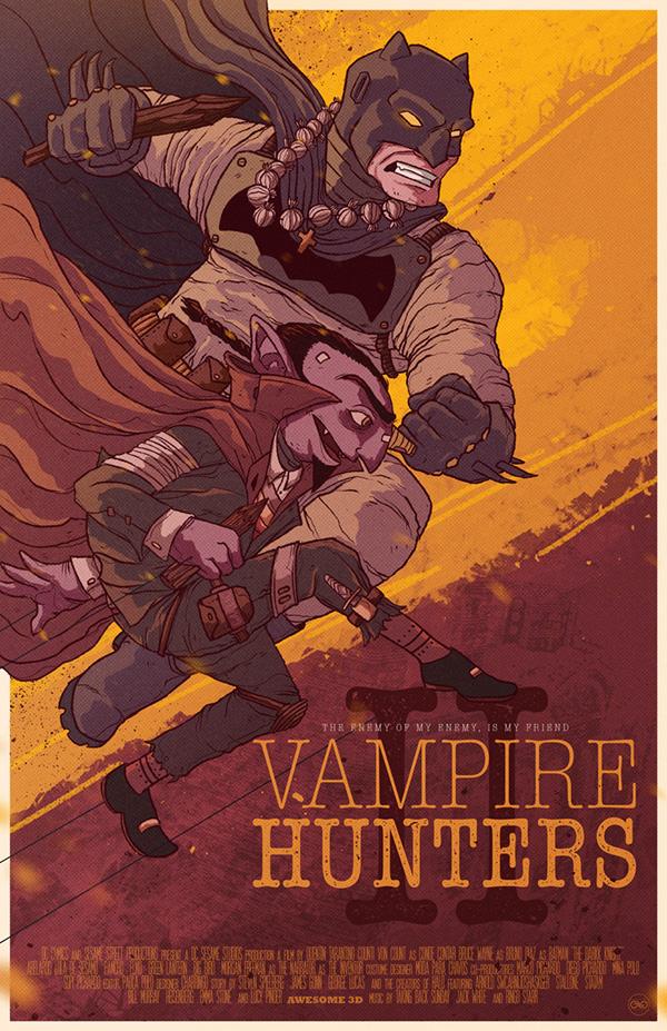 Vampire Hunters.  by Charringo .