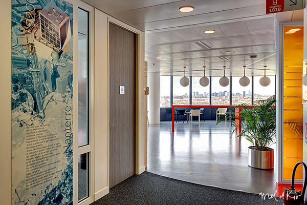 mel et kio wall design design mural Bouygues Telecom bouygues tour sequana