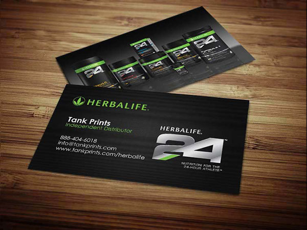 Herbalife Business Cards on Behance